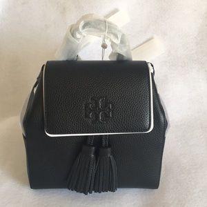 Tory Burch Thea Mini Black Backpack